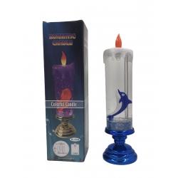 Новогодние свечи на батарейках и 220В (ночник)