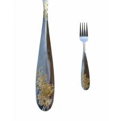 Вилка золотая 1623-11