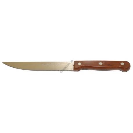 """Нож коричневый 6"""""""